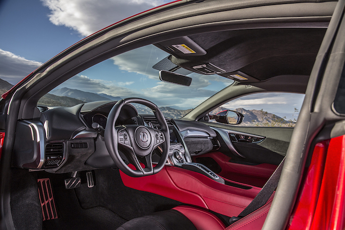 2017 Acura NSX.