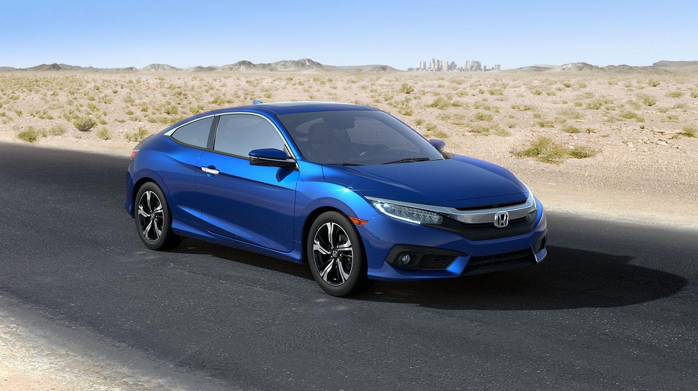 2016 Honda Civic Coupe Exterior Front