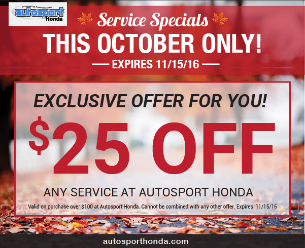 Honda service coupons nj