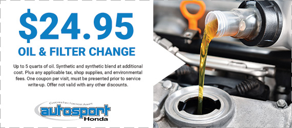 Auto service specials somerset autosport honda for Honda oil change printable coupon