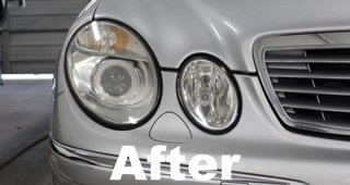 Headlamp Restoration After