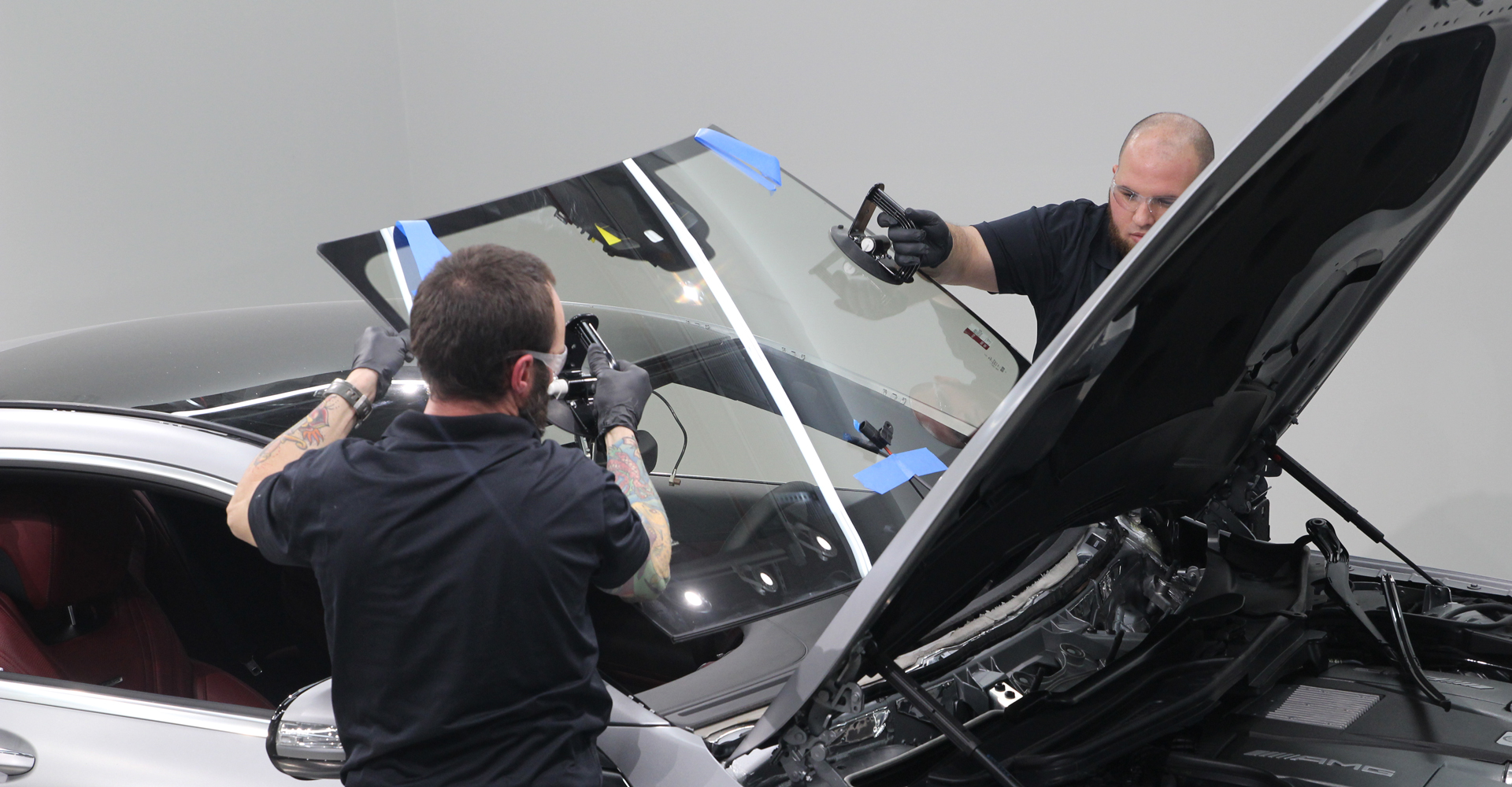 Genuine Mercedes-Benz Replacement Glass