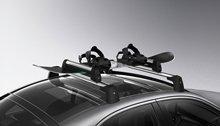 Mercedes-Benz Ski and Snowboard Rack, Standard