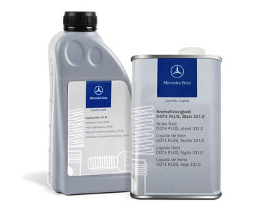 Genuine Mercedes-Benz Fluids