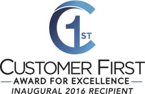 Customer 1st Award for Excellence