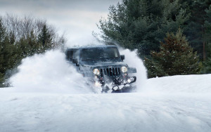 2016 Jeep Wrangler snow