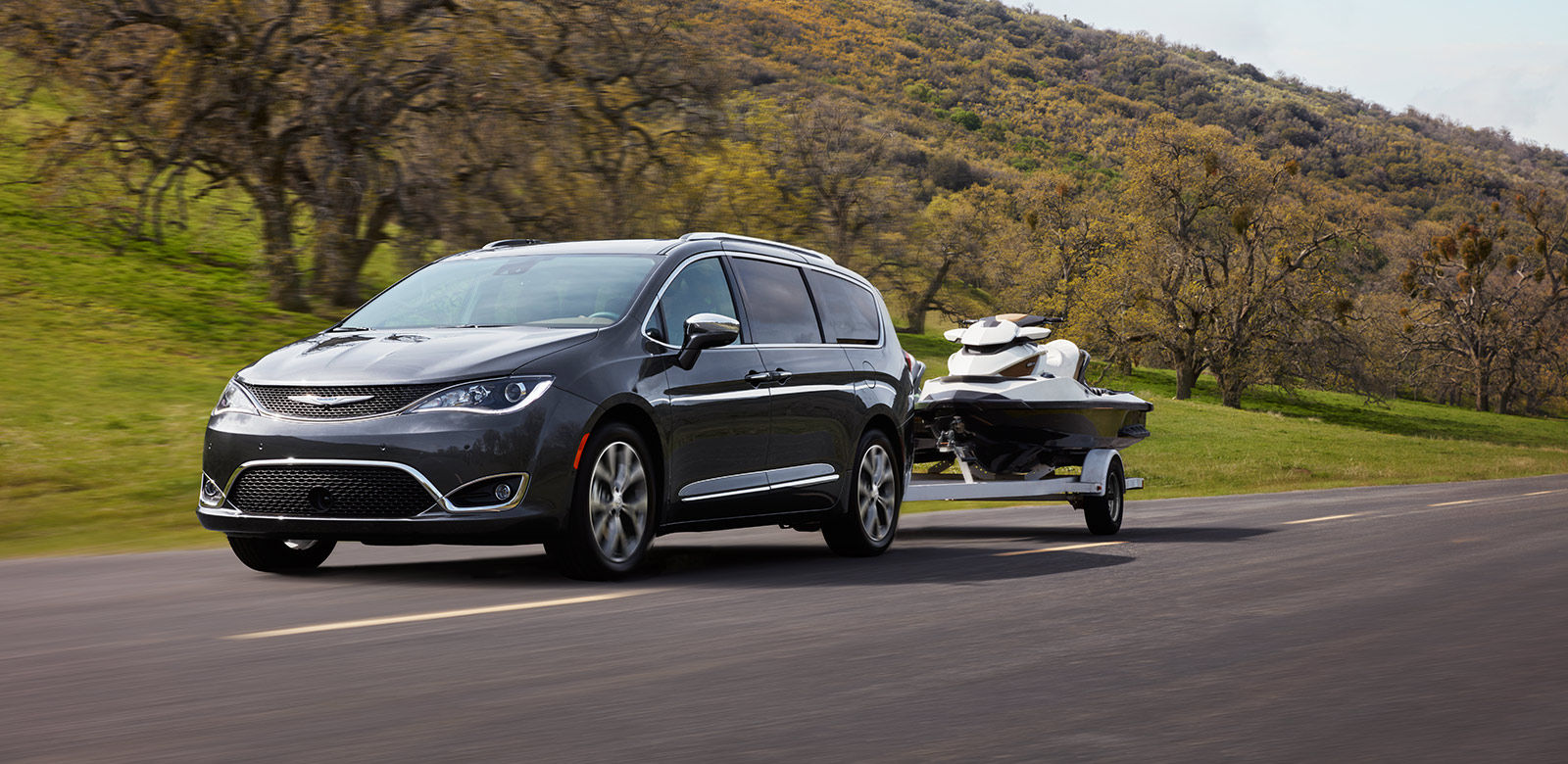 2017 Chrysler Pacifica tow