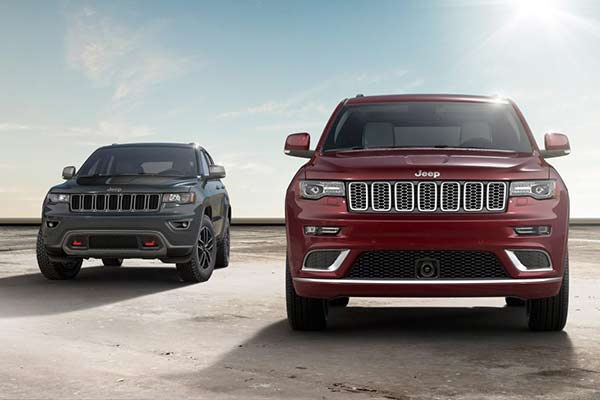 2017 Jeep Grand Cherokee Trims