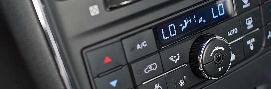 2016 Dodge Caravan AC Controls