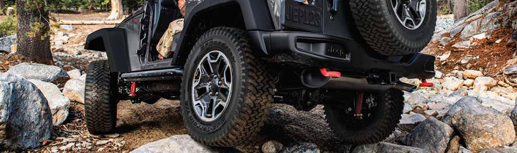 2016 Jeep Wrangler Tires
