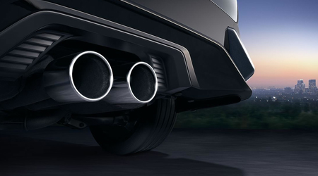 2017 Honda Civic Hatchback dual exhaust