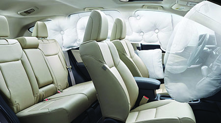 Smartvent airbags