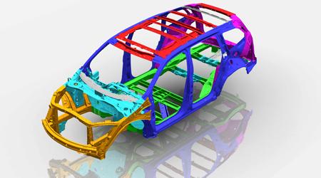 2016 Honda Pilot Body Structure