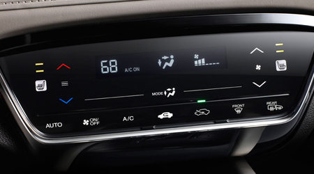 honda hrv auto climate control