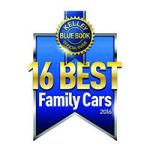 kbb best family cars 2016