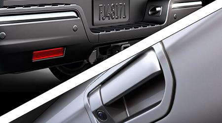 rear view camera parking sensors