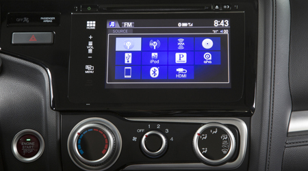 2017 honda fit display audio touch screen