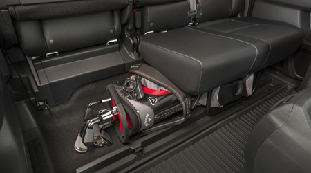 ridgeline folding seats