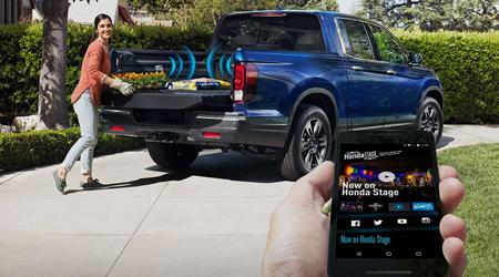 ridgeline truck-bed audio system