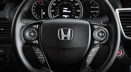 accord steering wheel mounted controls