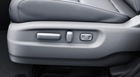 ridgeline power seat