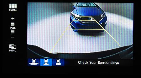 honda rearview camera