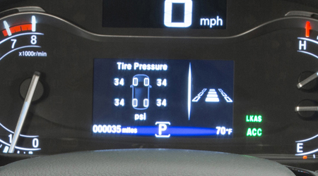 tpms with tire fill assist