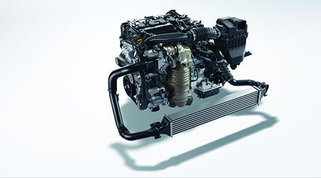 Turbocharged 1.5L 4-Cylinder Engine