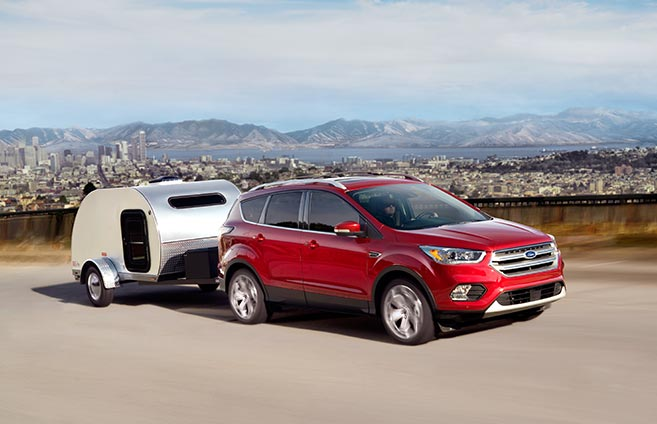 2017 Ford Escape -Towing