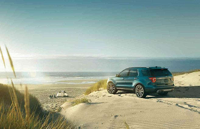 2017 Ford Explorer - All Wheel Drive - AWD