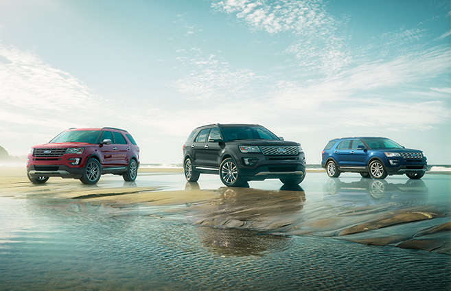 2017 Ford Explorer - Intelligent 4WD with Terrain Management System