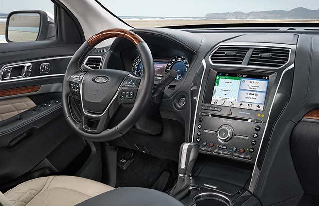 2017 Ford Explorer - SYNC 3