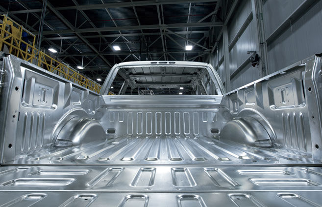 2017 Ford F150 - Aluminum Alloy Body and Steel Frame