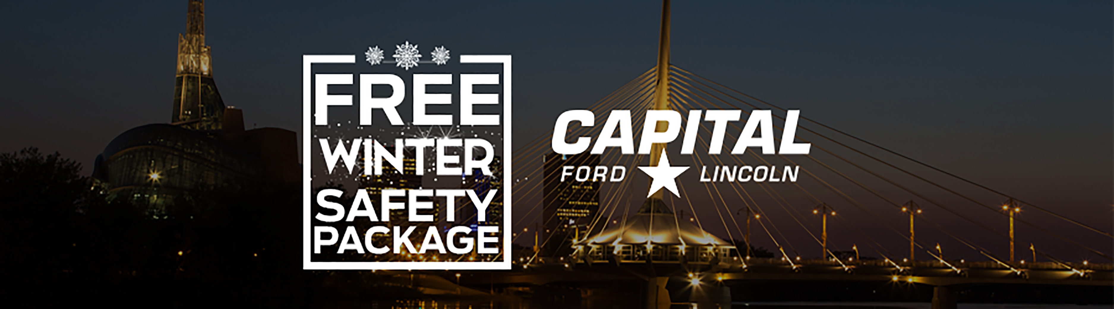 Free Winter Safety Package with new Ford purchase