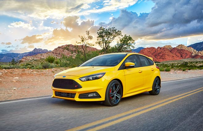 2017 Ford Focus Design