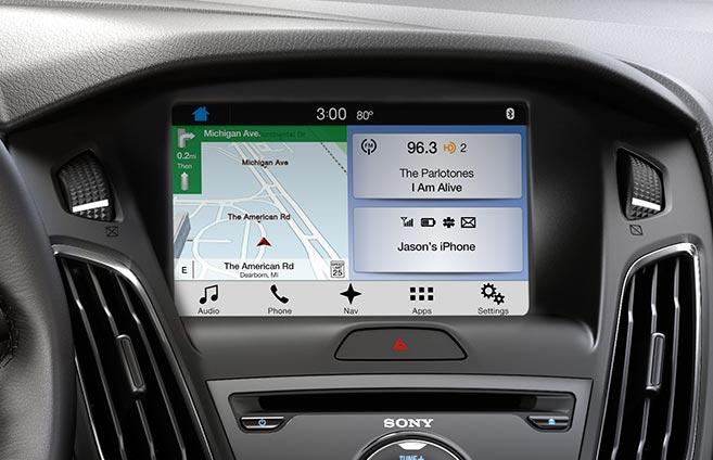 2017 Ford Focus - SYNC 3