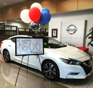 $500 Off New Nissan