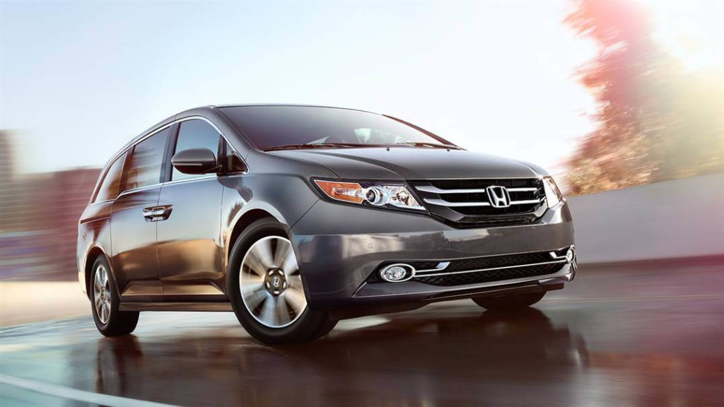2016 Honda Odyssey reviews
