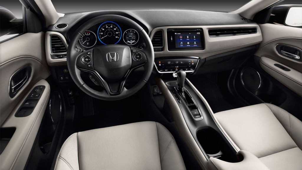 2016 Honda HR-V dashboard