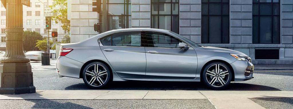 2016 Honda Accord side profile