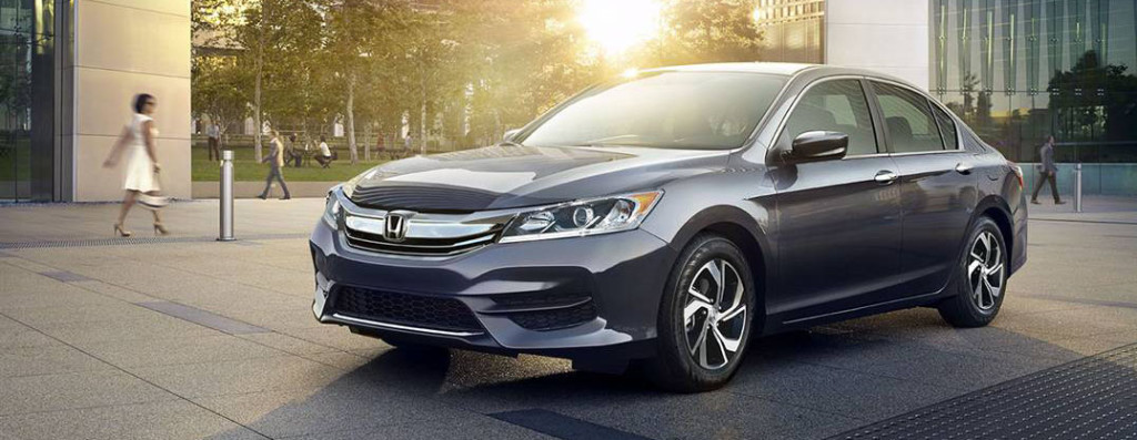 2016 Honda Accord parked