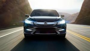 2016 Honda Accord front end