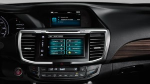 2016 Honda Accord touchscreen system