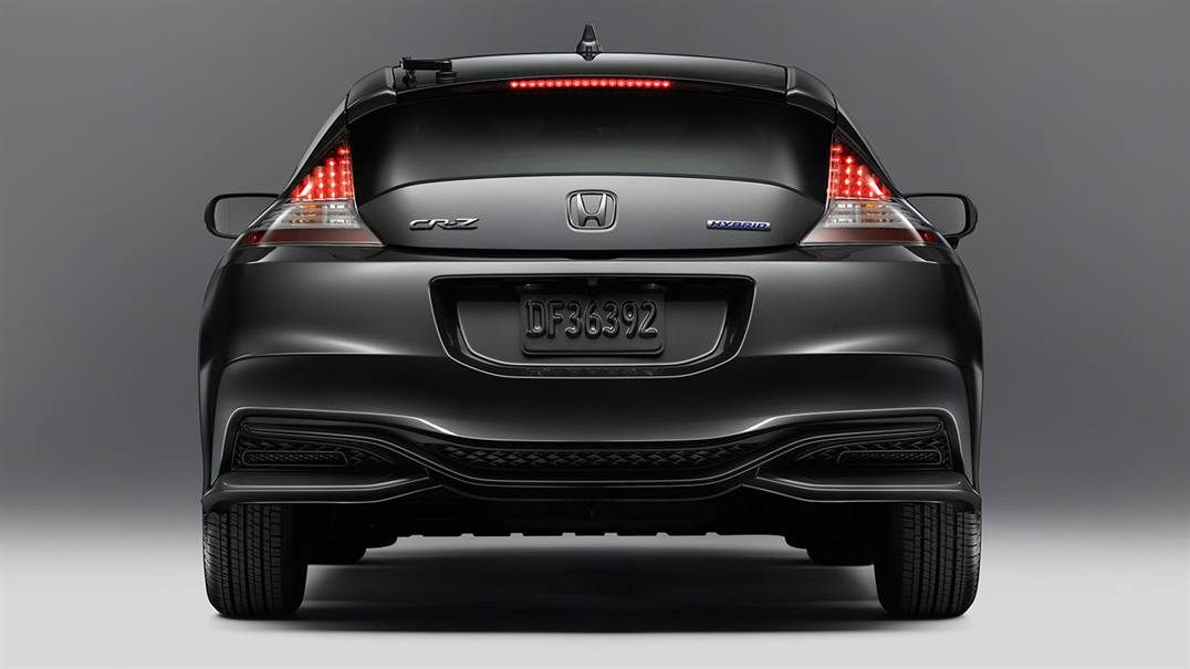 2016 Honda CR-Z rear lights