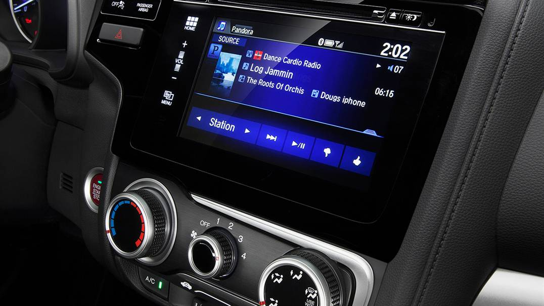 2016 Honda Fit touchscreen