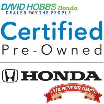 Honda Certified Pre Owned >> Certified Pre Owned Honda Benefits David Hobbs Honda