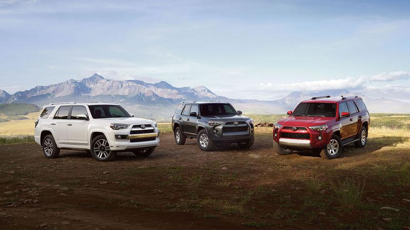 2016 Toyota 4Runner trio