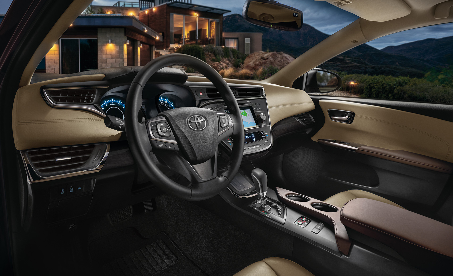 2016 Toyota Avalon Interior