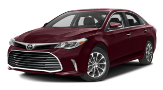 2016 Toyota Avalon red