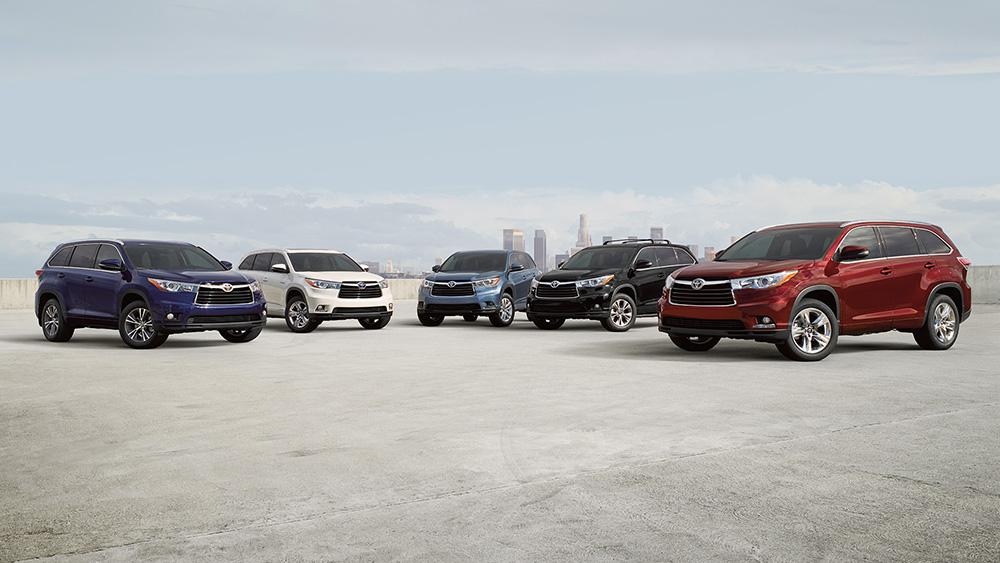 2016 Toyota Highlander group
